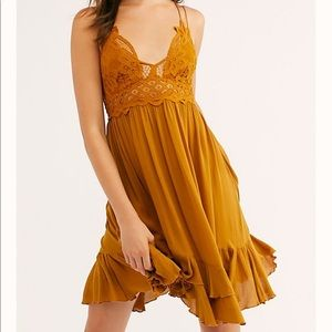 Free people adella lace dress